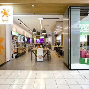 Spaceworks Design Group Ltd Spark Retail Store Retail Environments