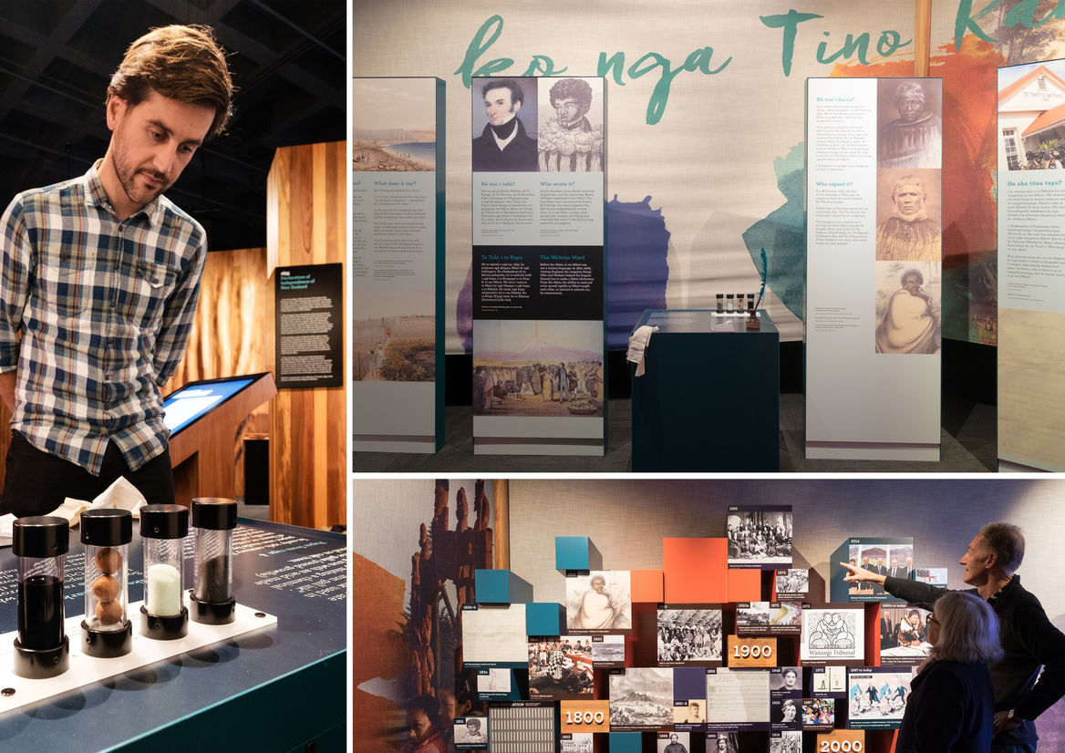 He Tohu exhibition   Best Awards