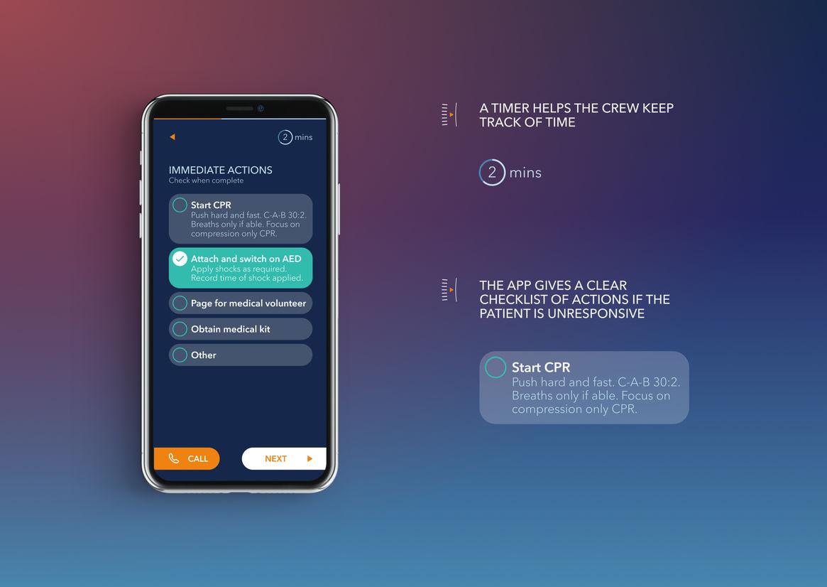 Medaire Inflight App   Best Awards